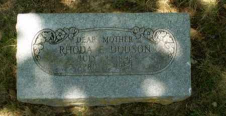 DODSON, RHODA E - Craighead County, Arkansas | RHODA E DODSON - Arkansas Gravestone Photos