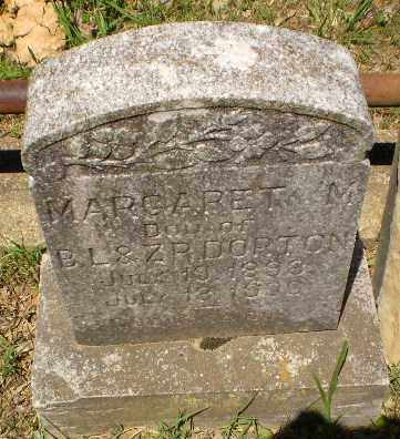 DORTON, MARGARET M - Craighead County, Arkansas | MARGARET M DORTON - Arkansas Gravestone Photos