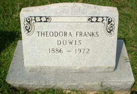 DOWIS, THEODORA - Craighead County, Arkansas | THEODORA DOWIS - Arkansas Gravestone Photos