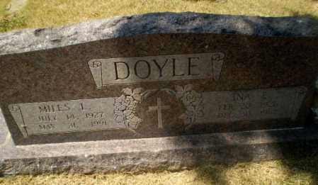 DOYLE, INA E - Craighead County, Arkansas | INA E DOYLE - Arkansas Gravestone Photos