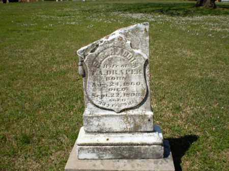 DRAPER, SARAH ADDIE - Craighead County, Arkansas | SARAH ADDIE DRAPER - Arkansas Gravestone Photos