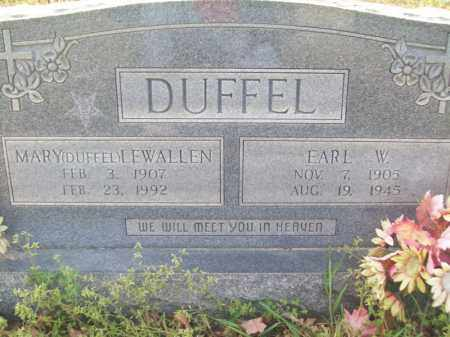 DUFFEL, MARY - Craighead County, Arkansas | MARY DUFFEL - Arkansas Gravestone Photos