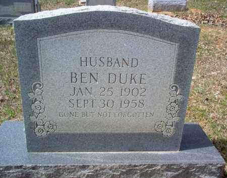DUKE, BEN - Craighead County, Arkansas | BEN DUKE - Arkansas Gravestone Photos