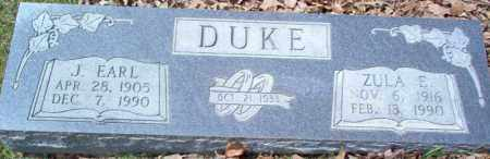 DUKE, ZULA E - Craighead County, Arkansas | ZULA E DUKE - Arkansas Gravestone Photos
