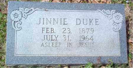 "BANTON DUKE, MARY JANE ""JINNIE"" - Craighead County, Arkansas 
