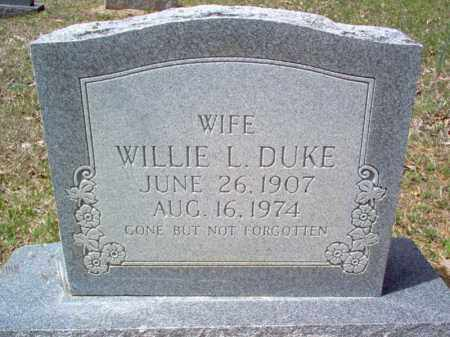 DUKE, WILLIE L - Craighead County, Arkansas | WILLIE L DUKE - Arkansas Gravestone Photos