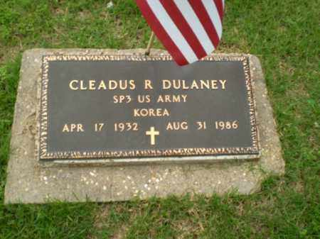 DULANEY  (VETERAN KOR), CLEADUS R - Craighead County, Arkansas | CLEADUS R DULANEY  (VETERAN KOR) - Arkansas Gravestone Photos