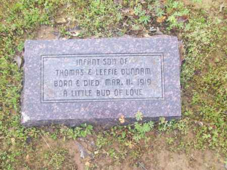 DUNNAM, INFANT SON - Craighead County, Arkansas | INFANT SON DUNNAM - Arkansas Gravestone Photos