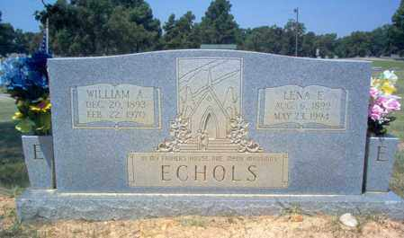 ECHOLS, WILLIAM A - Craighead County, Arkansas | WILLIAM A ECHOLS - Arkansas Gravestone Photos