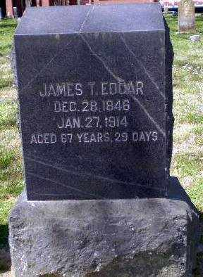 EDGAR, JAMES T - Craighead County, Arkansas | JAMES T EDGAR - Arkansas Gravestone Photos