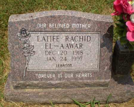 EL-AAWAR, LATIFE RACHID - Craighead County, Arkansas | LATIFE RACHID EL-AAWAR - Arkansas Gravestone Photos
