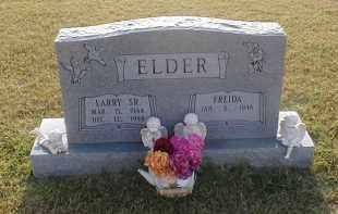 ELDER, SR., LARRY - Craighead County, Arkansas | LARRY ELDER, SR. - Arkansas Gravestone Photos