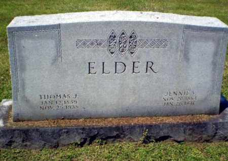 ELDER, THOMAS J - Craighead County, Arkansas | THOMAS J ELDER - Arkansas Gravestone Photos