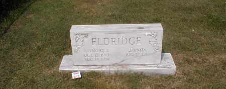 ELDRIDGE, RAYMOND B. - Craighead County, Arkansas | RAYMOND B. ELDRIDGE - Arkansas Gravestone Photos
