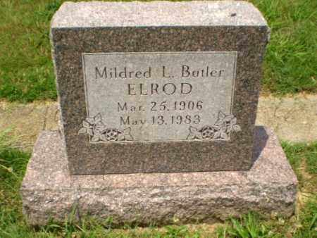 BUTLER ELROD, MILDRED L - Craighead County, Arkansas | MILDRED L BUTLER ELROD - Arkansas Gravestone Photos