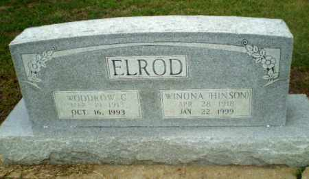 ELROD, WOODROW C - Craighead County, Arkansas | WOODROW C ELROD - Arkansas Gravestone Photos