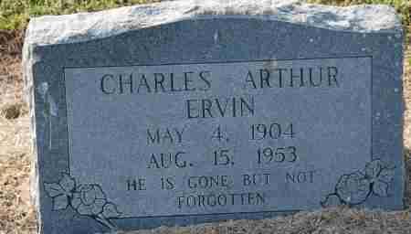 ERVIN, CHARLES ARTHUR - Craighead County, Arkansas | CHARLES ARTHUR ERVIN - Arkansas Gravestone Photos