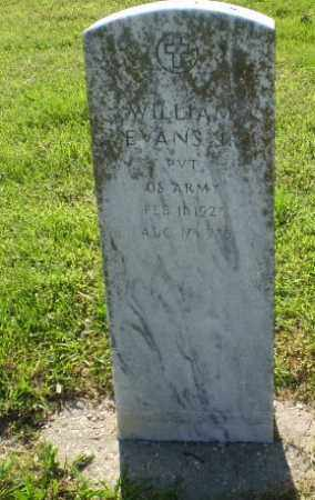 EVANS  (VETERAN), WILLIAM - Craighead County, Arkansas | WILLIAM EVANS  (VETERAN) - Arkansas Gravestone Photos