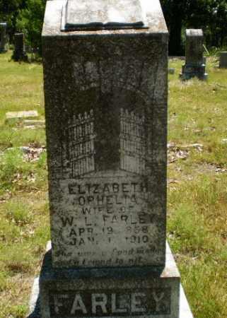 FARLEY, ELIZABETH OPHELIA - Craighead County, Arkansas | ELIZABETH OPHELIA FARLEY - Arkansas Gravestone Photos