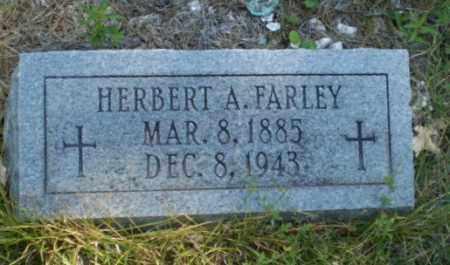 FARLEY, HERBERT A - Craighead County, Arkansas | HERBERT A FARLEY - Arkansas Gravestone Photos