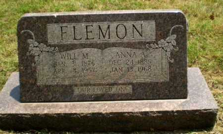 FLEMON, ANNA A - Craighead County, Arkansas | ANNA A FLEMON - Arkansas Gravestone Photos