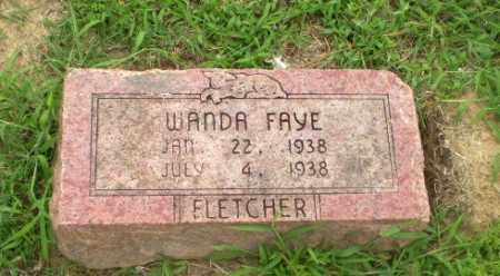 FLETCHER, WANDA FAYE - Craighead County, Arkansas | WANDA FAYE FLETCHER - Arkansas Gravestone Photos