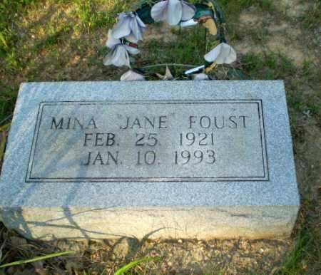 FOUST, MINA JANE - Craighead County, Arkansas | MINA JANE FOUST - Arkansas Gravestone Photos