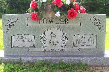 FOWLER, AGNES - Craighead County, Arkansas | AGNES FOWLER - Arkansas Gravestone Photos