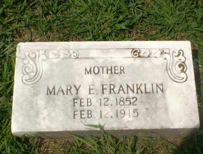 FRANKLIN, MARY E - Craighead County, Arkansas | MARY E FRANKLIN - Arkansas Gravestone Photos