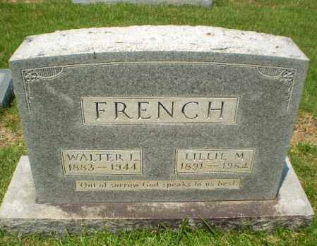 FRENCH, WALTER L - Craighead County, Arkansas | WALTER L FRENCH - Arkansas Gravestone Photos