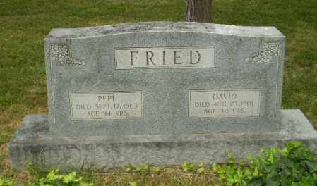 FRIED, PEPI - Craighead County, Arkansas | PEPI FRIED - Arkansas Gravestone Photos