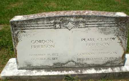 FRIERSON, GORDON - Craighead County, Arkansas | GORDON FRIERSON - Arkansas Gravestone Photos
