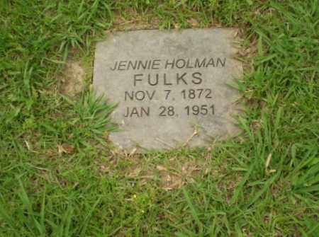 FULKS, JENNIE - Craighead County, Arkansas | JENNIE FULKS - Arkansas Gravestone Photos