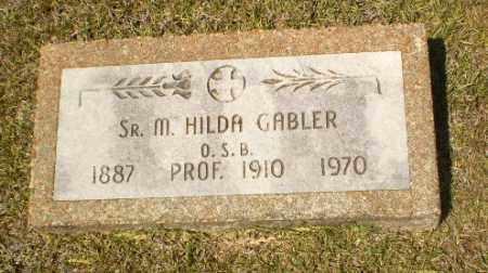 GABLER, SISTER M. HILDA - Craighead County, Arkansas | SISTER M. HILDA GABLER - Arkansas Gravestone Photos