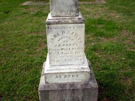 GAILEY, JANE D - Craighead County, Arkansas | JANE D GAILEY - Arkansas Gravestone Photos