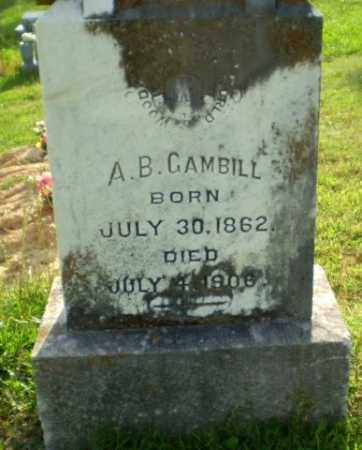 GAMBILL, A.B. - Craighead County, Arkansas | A.B. GAMBILL - Arkansas Gravestone Photos