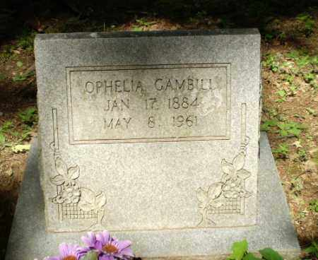 GAMBILL, OPHELIA - Craighead County, Arkansas | OPHELIA GAMBILL - Arkansas Gravestone Photos