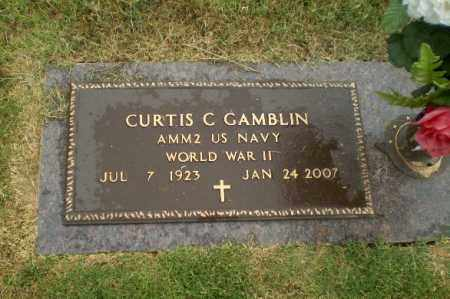 GAMBLIN  (VETERAN WWII), CURTIS C - Craighead County, Arkansas | CURTIS C GAMBLIN  (VETERAN WWII) - Arkansas Gravestone Photos