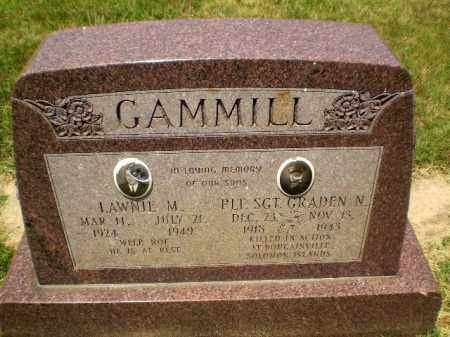 GAMMILL, LAWNIE M - Craighead County, Arkansas | LAWNIE M GAMMILL - Arkansas Gravestone Photos