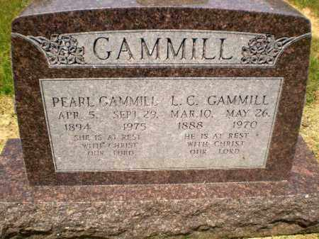 GAMMILL, L.C. - Craighead County, Arkansas | L.C. GAMMILL - Arkansas Gravestone Photos