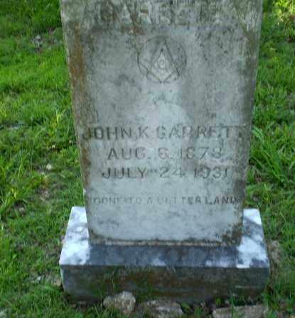 GARRETT, JOHN K - Craighead County, Arkansas | JOHN K GARRETT - Arkansas Gravestone Photos