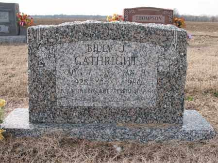 GATHRIGHT, BILLY J - Craighead County, Arkansas | BILLY J GATHRIGHT - Arkansas Gravestone Photos