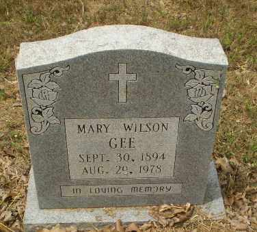 WILSON GEE, MARY - Craighead County, Arkansas | MARY WILSON GEE - Arkansas Gravestone Photos