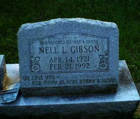 GIBSON, NELL L. - Craighead County, Arkansas | NELL L. GIBSON - Arkansas Gravestone Photos