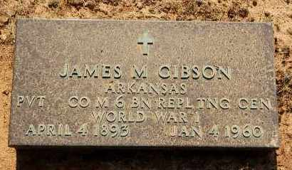 GIBSON (VETERAN WWI), JAMES M - Craighead County, Arkansas | JAMES M GIBSON (VETERAN WWI) - Arkansas Gravestone Photos