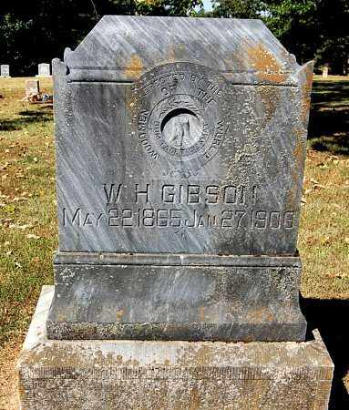 GIBSON, W. H. - Craighead County, Arkansas | W. H. GIBSON - Arkansas Gravestone Photos