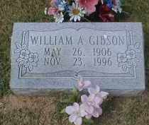 GIBSON, WILLIAM A - Craighead County, Arkansas | WILLIAM A GIBSON - Arkansas Gravestone Photos