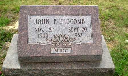 GIDCOMB, JOHN F - Craighead County, Arkansas | JOHN F GIDCOMB - Arkansas Gravestone Photos