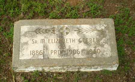 GOEBEL, SISTER M. ELIZABETH - Craighead County, Arkansas | SISTER M. ELIZABETH GOEBEL - Arkansas Gravestone Photos