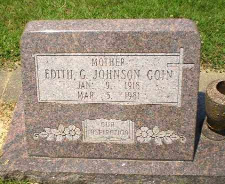 JOHNSON GOIN, EDITH G - Craighead County, Arkansas | EDITH G JOHNSON GOIN - Arkansas Gravestone Photos